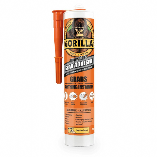 Gorilla Heavy Duty Grab Adhesive - Grabs Virtually Anything Instantly! 290ml